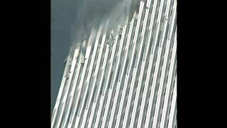 Visible Explosion at World Trade Center Before Collapse