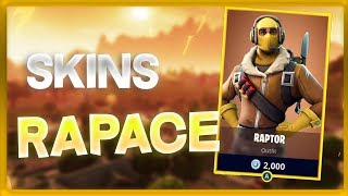 Fortnite - PETIT TOP 1 WITH THE SKIN RAPACE
