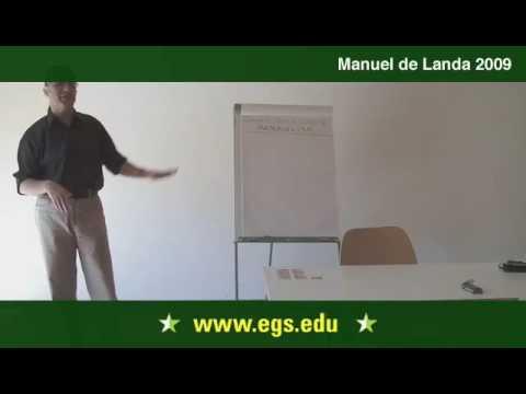 Manuel De Landa. Deleuze and The New Materialism. 2009. 4/11