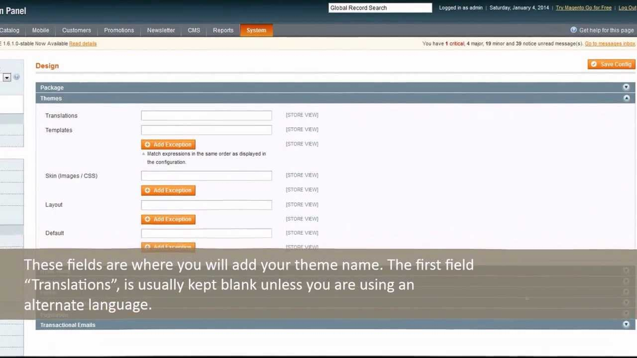 How to install a magento template|Magento themes installation ...