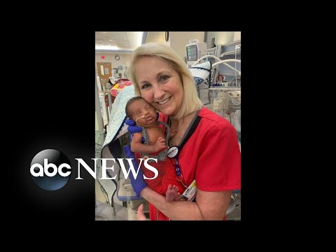 Man, newborn treated