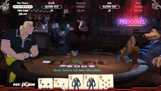 Poker Night 2 - Borderlands Room Gameplay