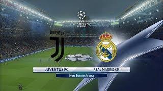 Juventus vs Real Madrid I Quarter Final UCL 1st Leg I PES 2018 Full Match Gameplay