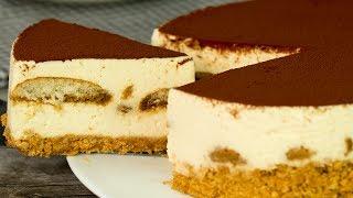 Не можете выбрать между тирамису и чизкейком? Отличное сочетание знаменитых десертов! | Appetitno.TV