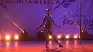 1º LUGAR POLE DANCE PROFESIONAL FEMENINO