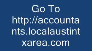 accountants - Local Austin Area