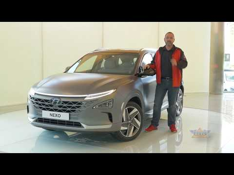 2018 Hyundai NEXO Hydrogen Fuel Cell Car Review
