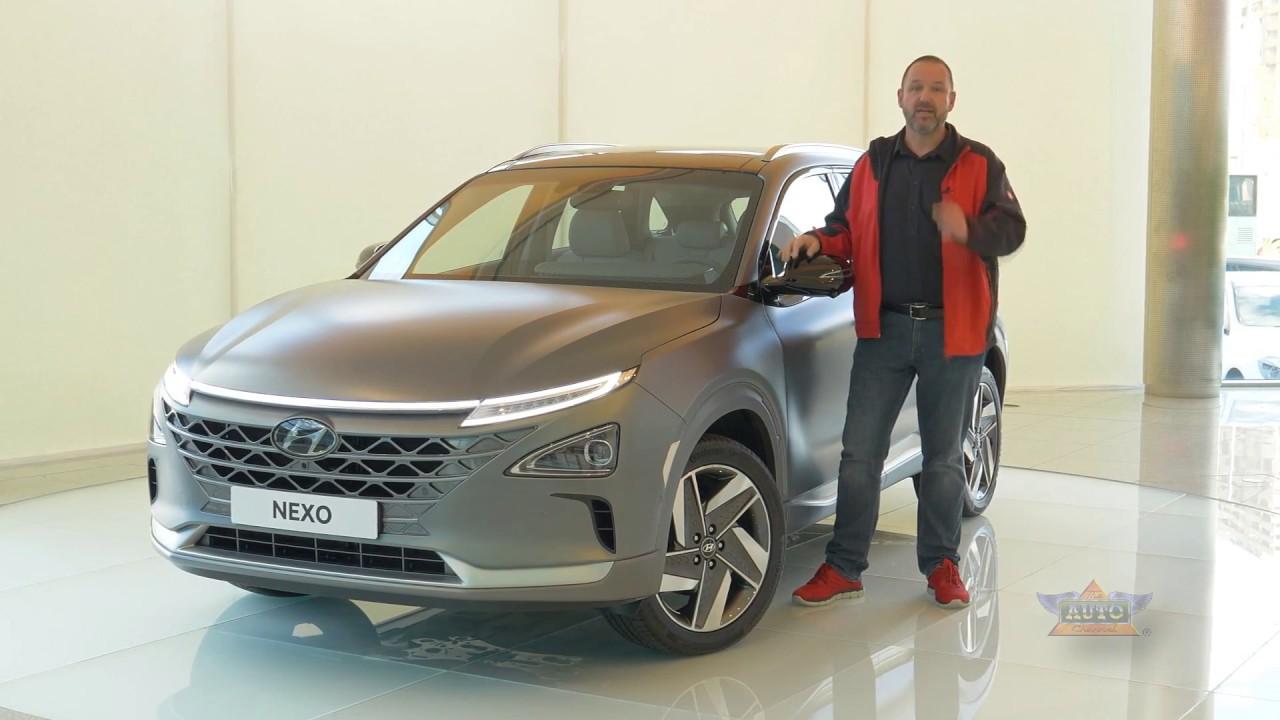 2018 Hyundai Nexo Hydrogen Fuel Cell Car Review Youtube