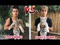 Cyrus Dobre Vs Darius Dobre ( YOUTUBE STARS BATTLE ) Musically Compilation