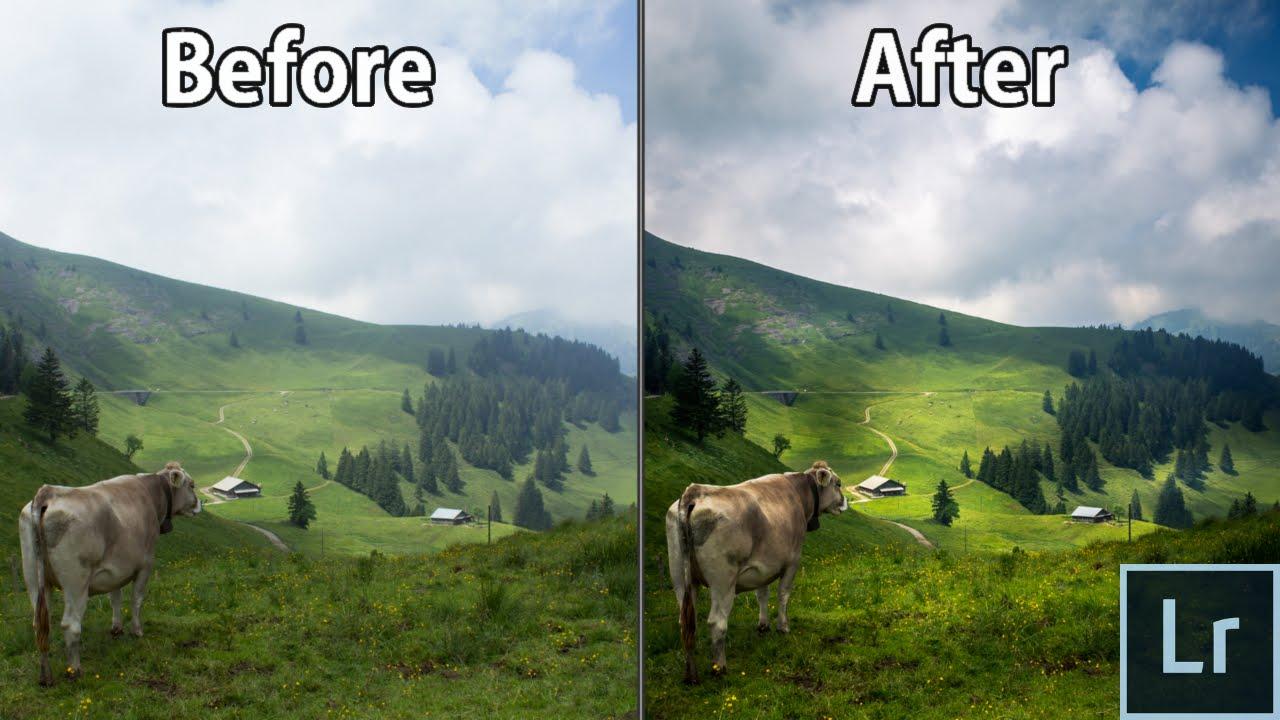 Editing Landscape & Nature Photos in Adobe Lightroom ...