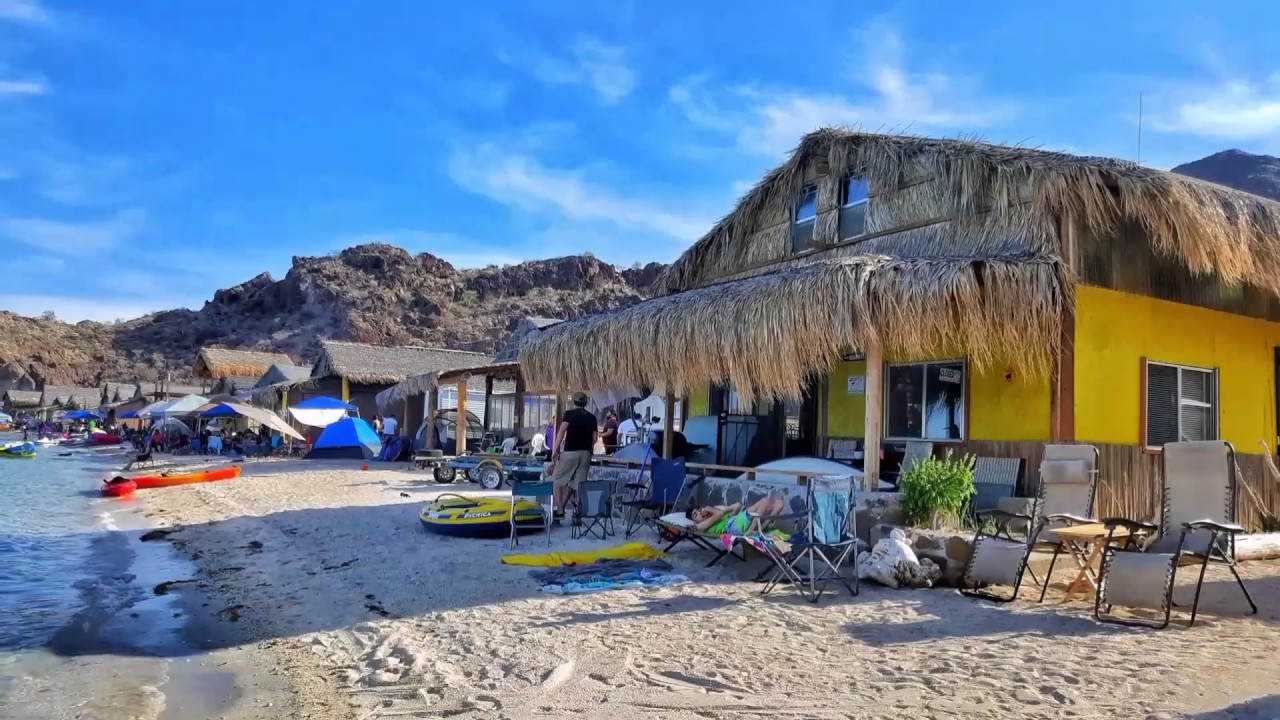 SANTISPAC y otras playas de Mulegé - YouTube