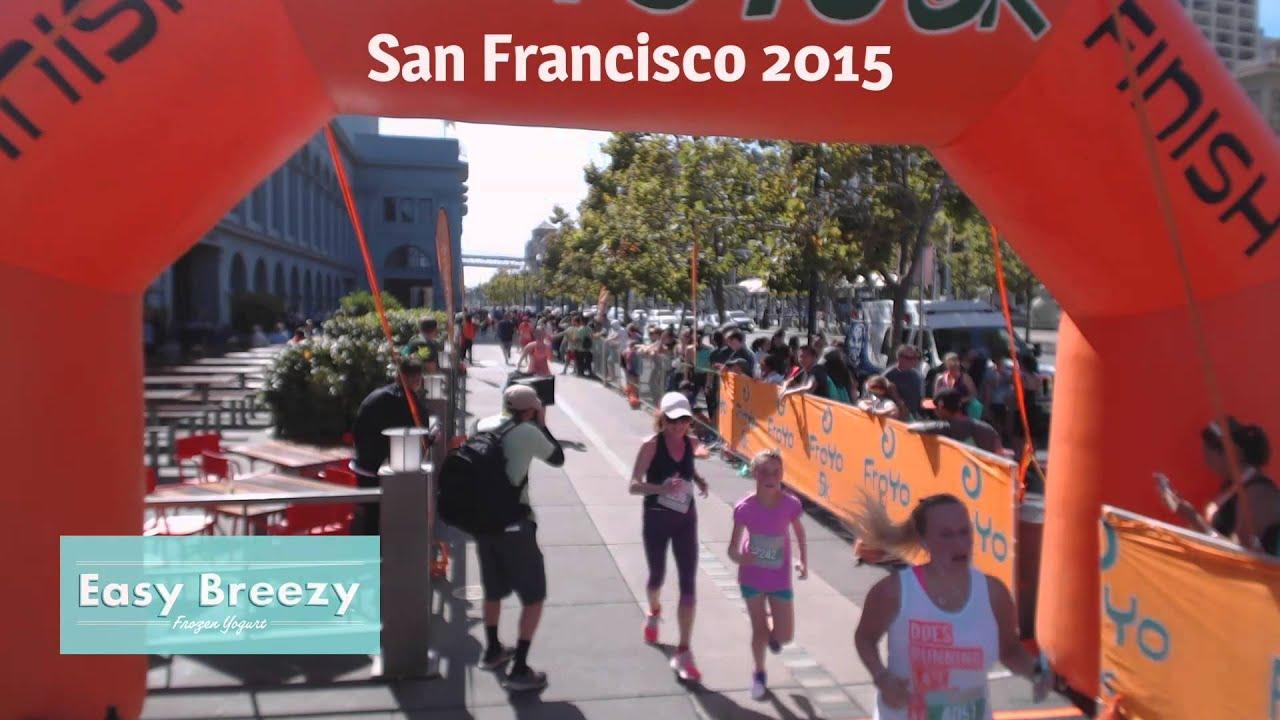 FroYo Run Finish - San Francisco 2015