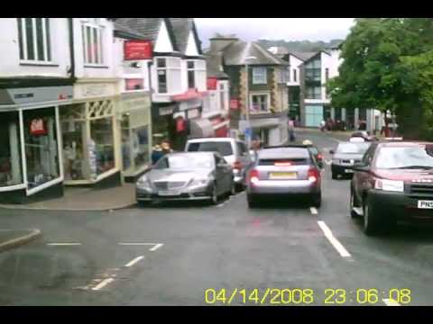 A drive through windermere to bowness and lake