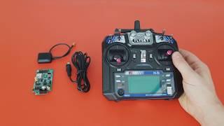 Фото Прошивка аппаратуры Flysky FS I6 для автопилота FB Pilot на 14 каналов с телеметрией