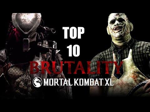 TOP 10 MEJORES BRUTALITIES DEL MORTAL KOMBAT XL - MaxiLunaPMY