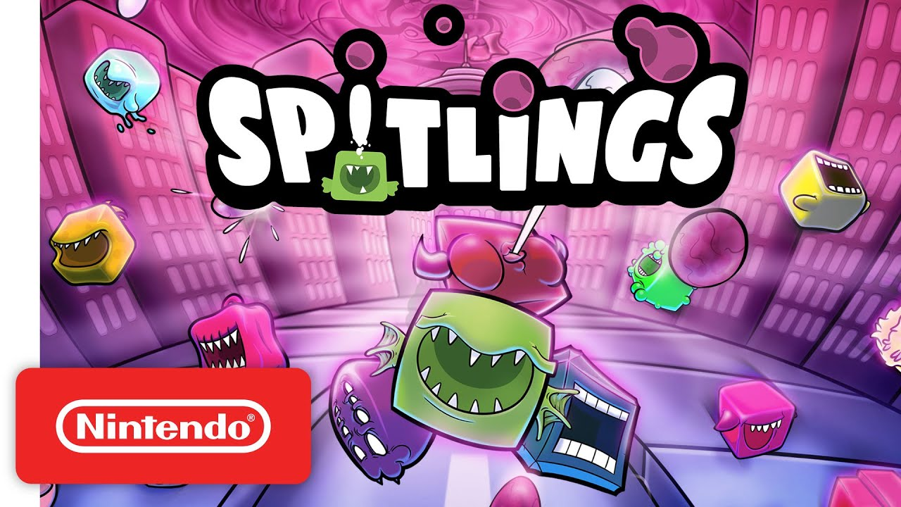 Spitlings - Launch Trailer - Nintendo Switch
