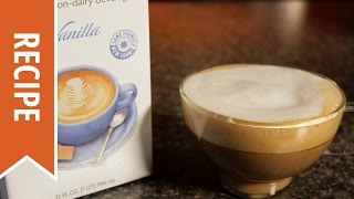 How To Make A Vanilla Soy Cappuccino