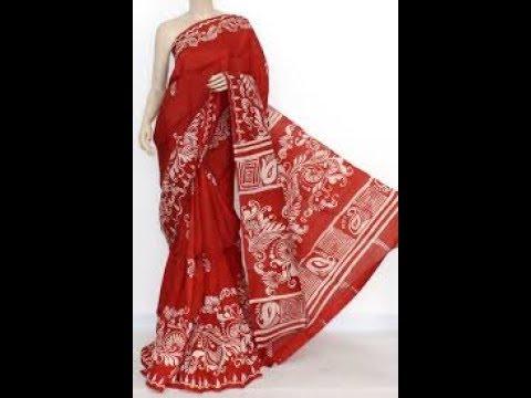 Batik Print Sarees Feel Feminine