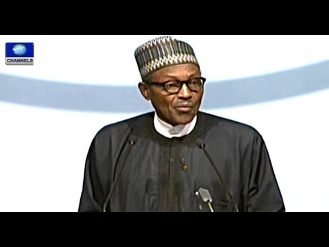India Africa Summit: Buhari Urges Leaders To Develop Africa -- 29/10/15
