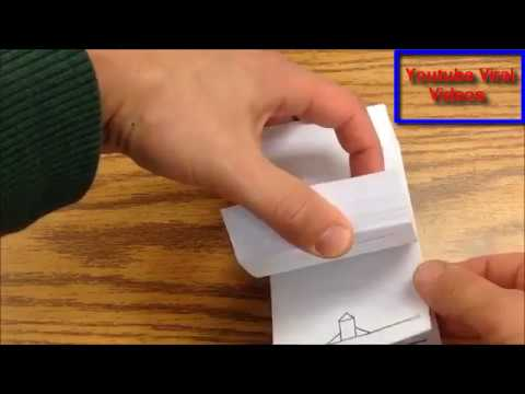 How to make a flipbook - YouTube
