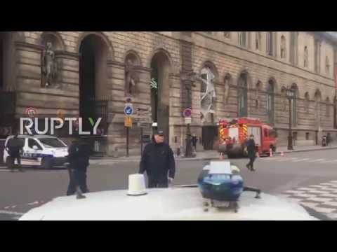 France: Police secure area around Louvre after soldier open fires on suspect