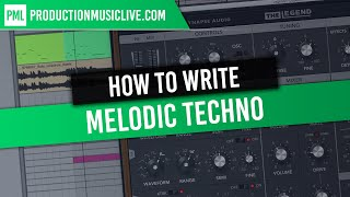 Melodic Techno - Melody Writing Session | The LEGEND VST, Ableton 10