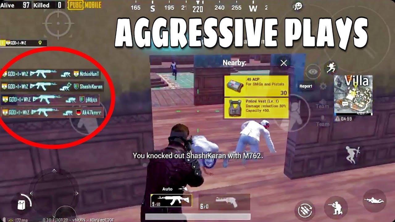 Download Best Aggressive Plays | SOLO VS SQUAD | PUBG Mobile | Merckz |