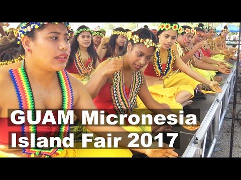 GUAM Micronesia Island Fair 2017. Part 2-2