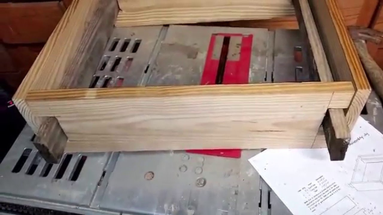 Beekeeping Frame assembly jig - YouTube