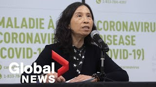Coronavirus outbreak: Canada's chief medical officer reports 313 cases of COVID-19  FULL