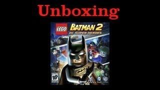 Lego Batman 2: DC Super Heroes Wii Unboxing!!!!!!!!!!!