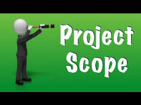 scope project definition management