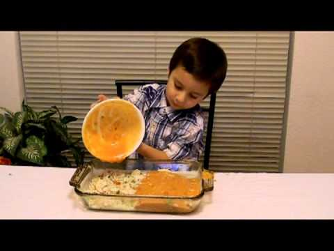 Easy Toddler Recipe - How To Make Italian Chicken And Rice Casserole - KID TESTED