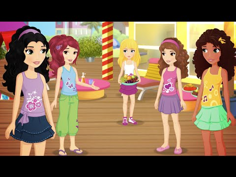 The Tale of Two Parties  LEGO Friends  Season 2 Episode 43