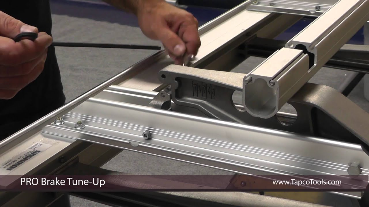 How To Tune Up A Sheet Metal Brake Youtube