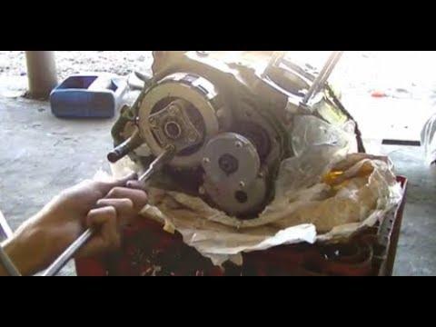 Bongkar total mesin Tiger/megapro dari kop sampai kruk as
