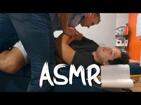 Chiropractic Adjustment ASMR (Manila, Philippines) -DOC ROB!