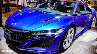 (4K)HONDA NSX blue color 2018 ホンダNSK青 - 東京オートサロン2018 東京オートサロン2018 検索動画 16