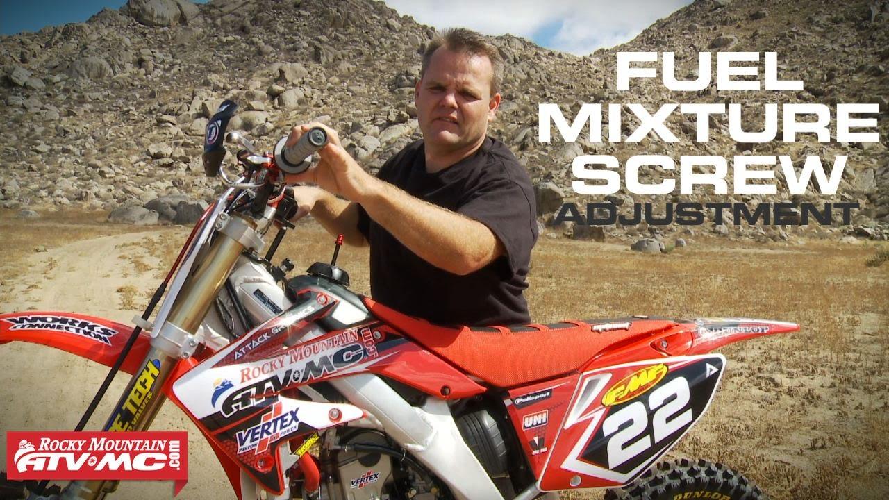 4 Stroke Fuel Mixture Screw Adjustment Youtube 2003 Honda Foreman 450 Wiring Diagram