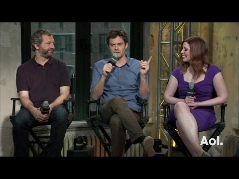 "Judd Apatow, Bill Hader and Vanessa Bayer Discuss ""Trainwreck"""