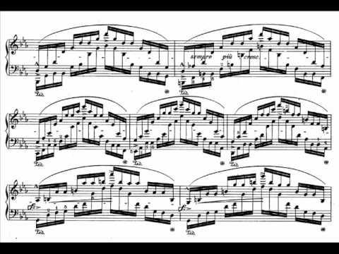 Chopin's Op.25 No.12 (Ocean) Etude Audio + Sheet Music