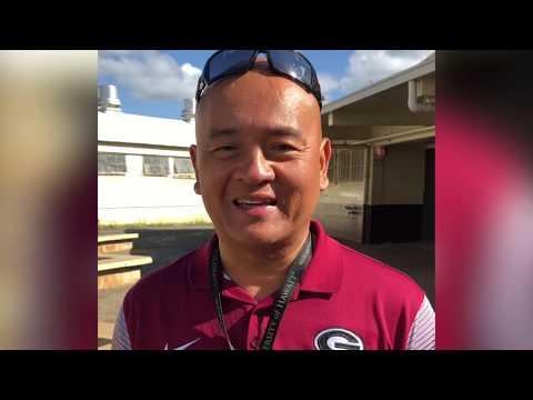Al Carganilla - Principal - Farrington H.S. - Honolulu, HI