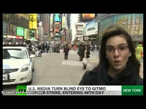 Media Blackout !  Hunger Strike at Gitmo Bay Prison !