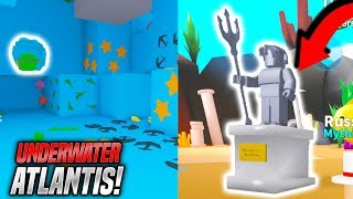 UNDERWATER ATLANTIS UPDATE IN MINING SIMULATOR! *NEW CODES* (Roblox)