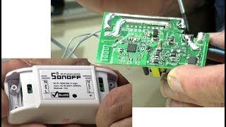 Sonoff-Schalter-Umbau auf Niederspannung