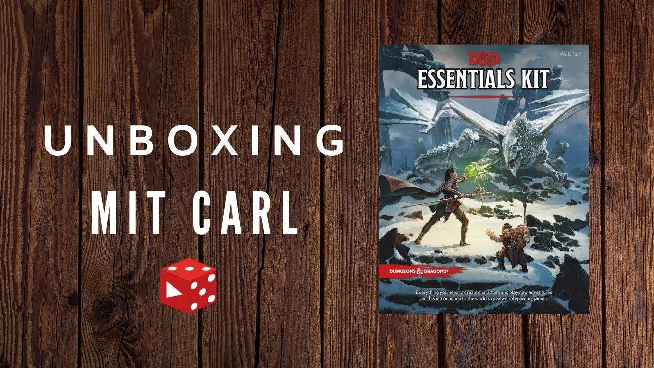 Download Dungeons & Dragons Essentials Kit unboxing (jetzt auch auf deutsch als Basisset)   D&D deutsch