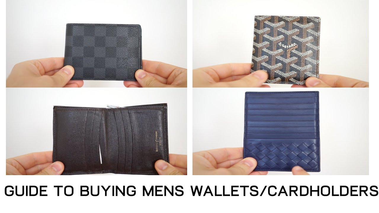 4d12c4b5db4f Guide to Buying Mens Wallets and Cardholders