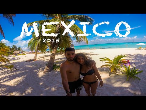 MEXICO 2015 - Cancun - Playa del Carmen [GoPro - 1080p]