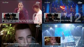 """Nacionalinės """"Eurovizijos"""" atrankos dalyvius įvertino užsienio komisija"""