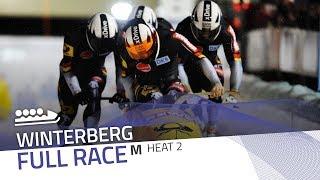 Winterberg   BMW IBSF World Cup 2017/2018 - 4-Man Bobsleigh Heat 2   IBSF Official
